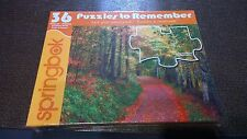 Puzzles to Remeber Jigsaw Puzzle Springbok 36 Pieces sealed