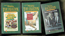#EE. THREE  VHS HORSE RACING  VIDEOS - SMITH / HAYES / CUMMINGS, CHAMPIONS etc