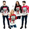 Adult Santa Claus Christmas Xmas Women Men Sweatshirt Jumper Sweater