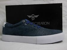 Creative Recreation Size 13 M Prio Blue Leather Low Sneakers New Mens Shoes