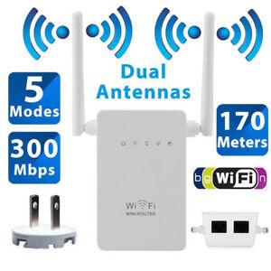 Repetidor de Señal WIFI amplificador del Router 300Mbps 170 Metros