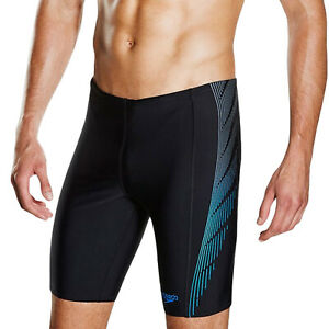 Speedo Mens Logo Endurance + Placement Panel Swimming Shorts Jammers - 40