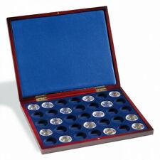 Coffret Volterra pour 35 pièces de 100 euros or allemandes.