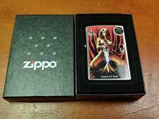 Kit Rae Zippo Lighter Brand New 24283 ALUEN