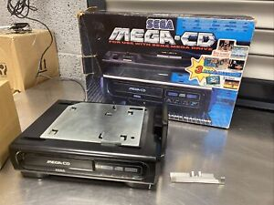 Sega Mega-CD - Mega Drive Console Ad On - PAL Original Box Vintage No Reserve