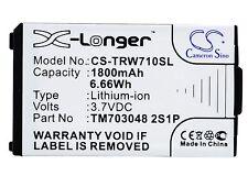 NEW Battery for Tritton Warhead 7.1 TM703048 2S1P Li-ion UK Stock