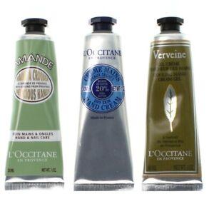 L'Occitane Hand Cream Set 3 x 30ml - Shea Butter Almond Verveine