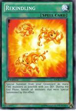 REKINDLING SDOK-EN024 YuGiOh! Spell Card from ONSLAUGHT OF THE FIRE KINGS 1st Ed