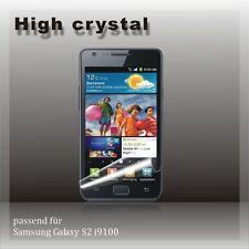 1x Displayschutz Folie klare Folie Schutzfolie für SAMSUNG GALAXY S2 i9100