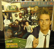 sealed HUEY LEWIS and the News SPORTS RCA Music Service