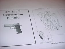 Smith & Wesson  4505 4506 .45 Pistol Parts Diagram w/ Part Numbers & Price List