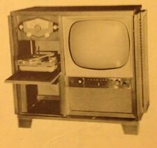 1954 ZENITH TELEVISION CONSOLE service manual RADIO PHONO chassis 22L20 10L20