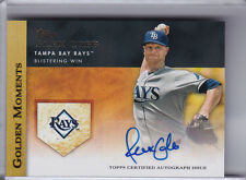 2012 TOPPS #GMA-AC ALEX COBB AUTOGRAPH TAMPA BAY RAYS 9023