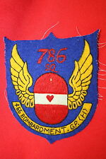 SUPERB 786TH BOMB SQUADRON 466th GROUP 8TH AAF A2 JACKET PATCH