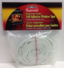 Imperial GA0009 Replacement Gasket Self-adhesive Wood Firebox Stove Window Tape