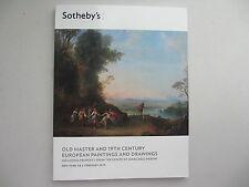 Old Master & 19th Century European Paintings. Sotheby's. NY, 1-2 February 2013
