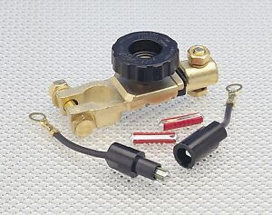 Discarnect Car Battery Disconnect Isolator Cut-Off Switch + fuselink