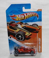2011 Hot Wheels Track Stars 11 #69 Honda Racer Orange New