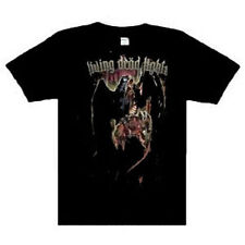 Living Dead Lights Raven Music punk rock t-shirt Black  LARGE  New