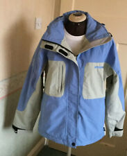 Mambo Dry Goods Blue And Beige Ladies' Ski Jacket Size 10