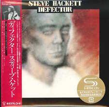 STEVE HACKETT-DEFECTOR-JAPAN MINI LP 2 SHM-CD+DVD Ltd/Ed L60
