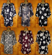 Evans Tunic, Kaftan Polyester Floral Tops & Shirts for Women