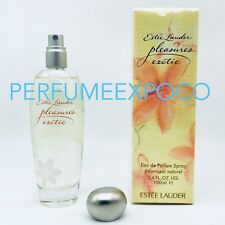 Estee Lauder PLEASURES EXOTIC Perfume WOMEN 3.4 oz EDP Spray *DISCONTINUED*