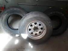 NISSAN PATROL STEEL RIM AND TYERS