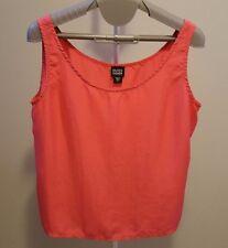 Eileen Fisher Pink Silk Tank Top Sleeveless Shirt Women M
