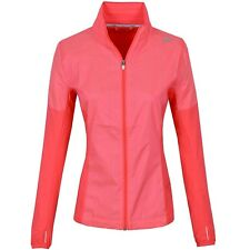 Adidas SN Storm Jacket Damen Laufjacke Trainingsjacke Wind Jacke Regen neon rot