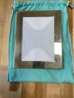 """Tiffany & Co STERLING SILVER 1925 Picture FRAME,5 x 7 Photo, Frame size 9"""" X 7"""""""