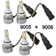 9005 9006 Combo LED Headlight Bulb for Toyota Corolla 2001-2013 High Low Beam