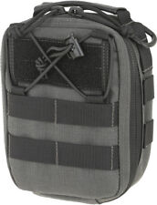"Maxpedition FR-1 Pouch Wolf Gray 0226W Main compartment measures 6"" x 3"" x 7"". 1"