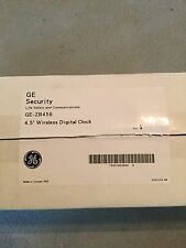"GE-ZB456 4.5"" WIRELESS DIGITAL CLOCK NEW OLD STOCK"