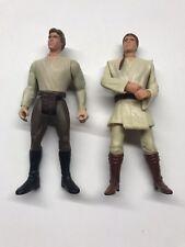 1996 Han Solo (Kenner) & 1998 Obi-Wan Kenobi (Mattel)Action Figures