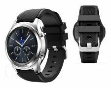Samsung Gear S3 Clásico De Plata Reloj inteligente R775V desbloqueado versión internacional