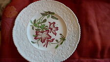 "pretty vintage floral ""Lilly"" 10"" porcelain plate by Cauldon of England"
