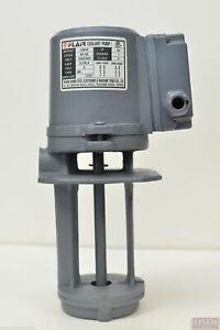 """1/8 HP Machinery Coolant Pump, 110/220V, 1PH, 130mm (5"""") Shaft, CE, FLAIR"""