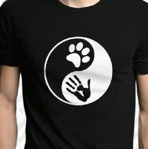 Love Infinity Dog Animal lover T shirt Tee puppy pitbull Havanese Doxie paw hand