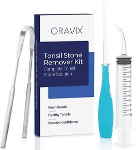 Tonsil Stone Remover Kit | Remove & Prevent Tonsil Stones | Sore Throat Relief |