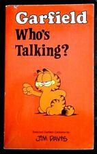 Garfield-Who's Talking? (Garfield Pocket Books: 7) by Jim Davis (Paperback 1987)
