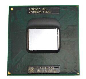 Intel Celeron M 530 CPU 1.73 GHz / 1M / 533 Mhz Single Core Processor SLA48