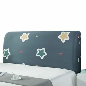 Headboard Slipcover Protector Cover Dustproof Bedside Cover Bed Head Cover 1PC
