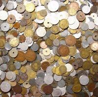 Konvolut Kiloware Nur alte Münzen bis 1950 aus Europa Welt 1 KILOGRAMM 1 Kg LOT
