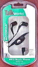 Premium Mp3/music Stereo Head Phones for Motorola Razors, Mini Usb