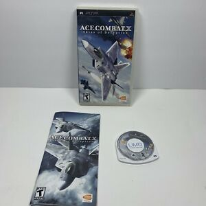 Ace Combat X Skies of Deception Sony PSP 2006 Complete