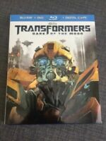 🤖🎬 TRANSFORMERS: Dark Of The Moon * Blu-ray & DVD Slipcover * Like New 🤖🎬