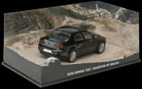 JAMES BOND 007 - ALFA ROMEO 159 CAR QUANTUM OF SOLACE - DIARAMA DISPLAY  - 1:43
