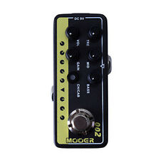 Mooer Micro Preamp 002 UK Gold Guitar Effects Pedal +Picks