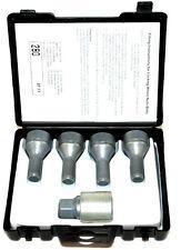 Fiat 500X 500L Doblo Locking Wheel Bolts Set 50901161
